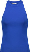 Alexander Wang Ribbed stretch-jersey top