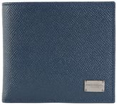 Dolce & Gabbana Light Blue Daupnine Leather Wallet