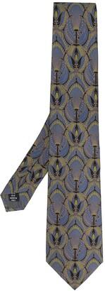 Gianfranco Ferré Pre-Owned 1990 Peacock Print Tie