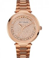 Wittnauer WN4027 Men's Taylor Rose -Tone Bracelet Band Dial Watch