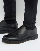 Religion Leather Creeper Derby Shoes