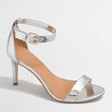 J.Crew Factory Metallic high-heel sandals