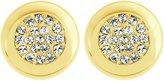 Swarovski Stone Stud Pierced Earrings - 5098345