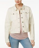 Velvet Heart Rosetta Cotton Embroidered Denim Jacket