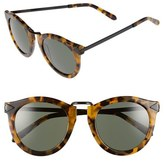 Karen Walker Women's 'Harvest' 50Mm Retro Sunglasses - Black