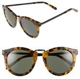 Karen Walker Women's 'Harvest' 50Mm Retro Sunglasses - Crazy Tortoise