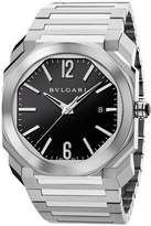 Bvlgari Stainless Steel Octo Solotempo Watch (41mm)