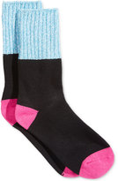 Hot Sox Colorblock Marled Boot Socks