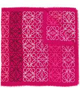 Loewe anagram scarf - women - Silk/Cashmere/Wool - One Size
