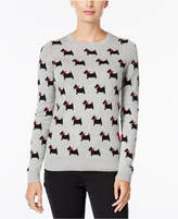 Charter Club Dog-Print Sweater, Only at Macy's