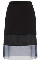 Topshop **3 Panel Skirt by Unique