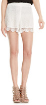 Vince Camuto Embroidered Lace Shorts (Regular & Petite)