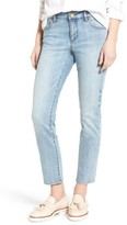 KUT from the Kloth Women's Reese Stretch Ankle Straight Leg Jeans