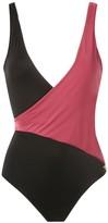 BRIGITTE colour-blocked swimsuit