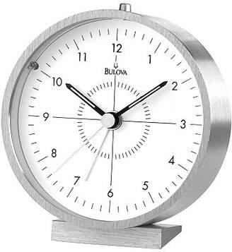 Bulova Flair Travel Silver-Tone Alarm Clock Family