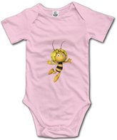 HCB Hello Cute Babe Baby's Cute Maya The Bee Short Sleeve Babysuit Baby Onesie For Boy Girl 6 M