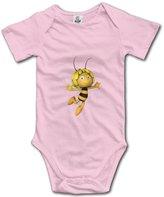 HCB Hello Cute Babe Baby's Cute Maya The Bee Short Sleeve Babysuit Baby Onesie For Boy Girl 6 M