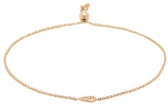 Zoë Chicco Bolo Diamond & 14kt Gold Chain Bracelet - Gold