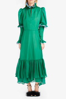 Natasha Zinko Chiffon Tiered Dress
