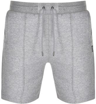 Luke 1977 Jim Tata Pipe Detail Sweat Shorts Grey