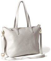 Old Navy Classic Faux-Leather Zipper Tote for Women