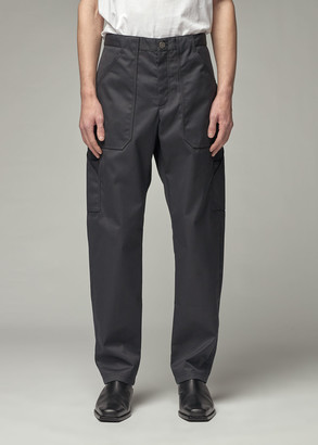 Deveaux Men's Lee Pant in Navy Water Repellent Twill Size 30 Polyester/Cotton