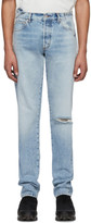 Heron Preston Blue Sami Miro Vintage Edition 5 Pocket Jeans