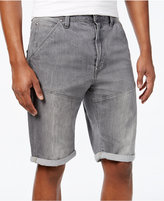 G Star Men's Tapered-Leg Folded-Cuff Denim Shorts
