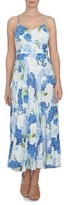 CeCe Women's Hydrangea Print A-Line Maxi Dress
