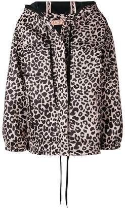 No.21 leopard-print jacket