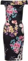 Quiz **Quiz Flower Print Midi Dress