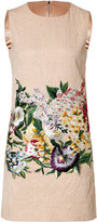 Dolce & Gabbana Sleeveless Cocktail Dress with Embroidery