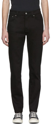 Nudie Jeans Black Steady Eddie Jeans
