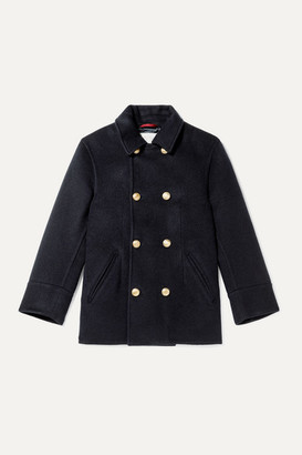 BRUNELLO CUCINELLI KIDS Ages 8 - 10 Double-breasted Cashmere Coat