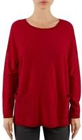 Gerard Darel Lewis Patch-Pocket Merino Wool Sweater