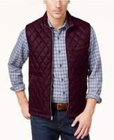 Tasso Elba Men's Quilted-Front Vest, Created for Macy's