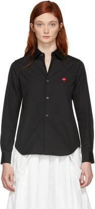 Comme des Garcons Black Small Heart Shirt