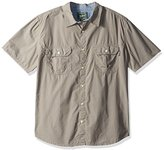 Woolrich Men's Midway Solid Short Sleeve Shirt