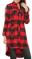 Peter Nygard Plaid Duster