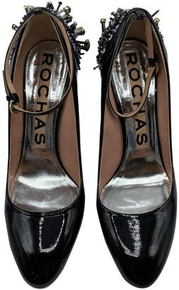Rochas Black Patent leather Heels