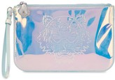 Kenzo A5 Tiger holographic-effect clutch
