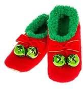 Joe Davies Ladies Womens Christmas Xmas Jingle Snoozies Slippers Footwear Warm Soft