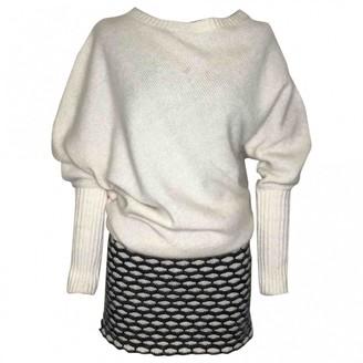 Jay Ahr White Wool Dresses