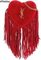 Saint Laurent mini 'Love' crossbody bag