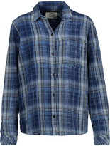 Current/Elliott The Workwear plaid cotton shirt