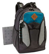 Jeep Teal & Black Backpack Diaper Bag & Changing Pad