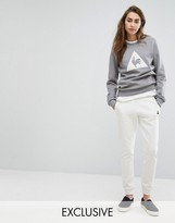 Le Coq Sportif Exclusive To ASOS Sweatpants In Cream