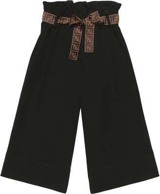 Fendi High-rise wide-leg pants