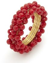 Sur La Table Beaded Napkin Ring, Red