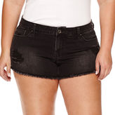 LOVE INDIGO Love Indigo Denim Shorts Plus